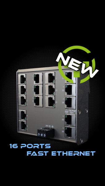 Industrial Ethernet Switch 16 Port